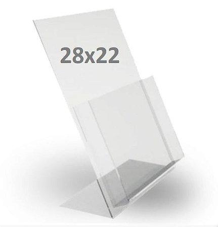 Porta Folder Acrílico - tam. G
