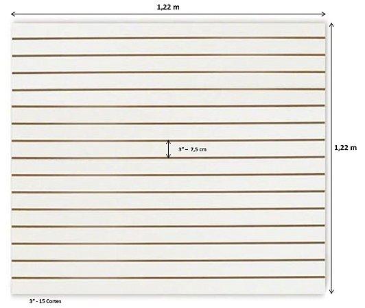 Painel Canaletado 1,22 x 1,22m