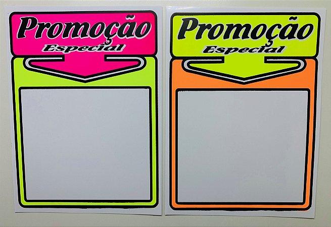 Etiqueta PVC Promoção - tam. GG - 10 unid