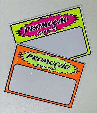 Etiqueta PVC Promoção - tam. P - 10 unid.