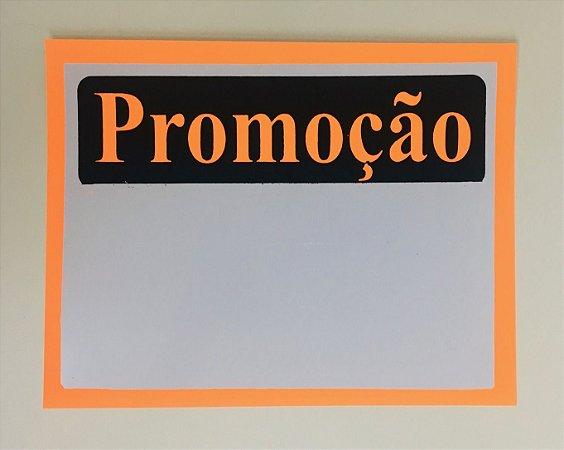 Etiqueta PVC Promoção - tam. G - 10 unid.