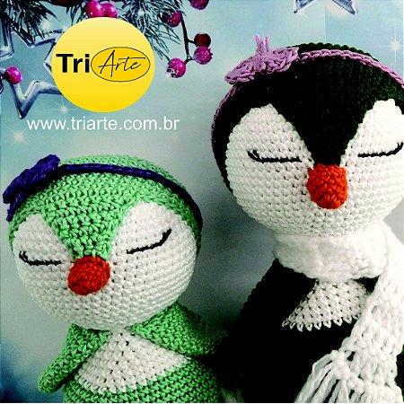 Pinguins Mãe e Filha