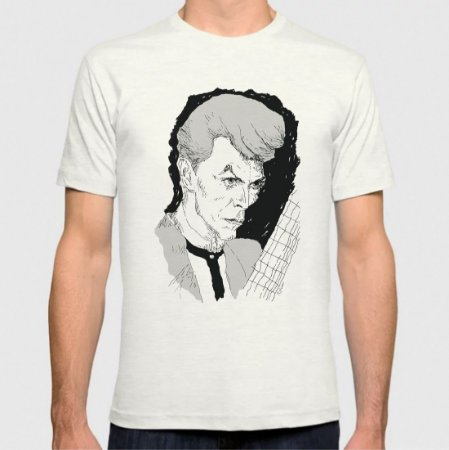 David Bowie - by Mad Music - T-Shirt