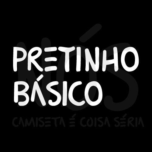 Pretinho básico | t-shirt & babylook