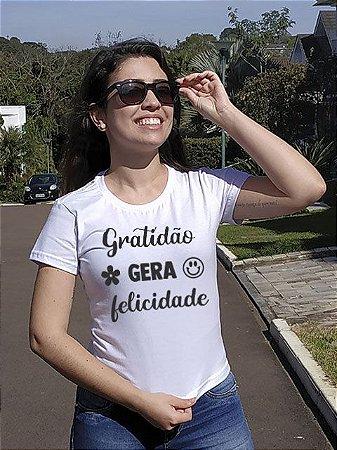 Gratidão gera felicidade