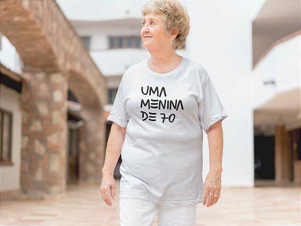 Uma menina de 70| t-shirt ou babylook