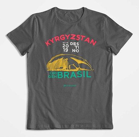 Toco Lenzi - Quirguistão (T-shirt Tamanduá)