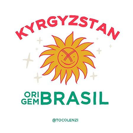 Toco Lenzi - Quirguistão (T-shirt Sol)