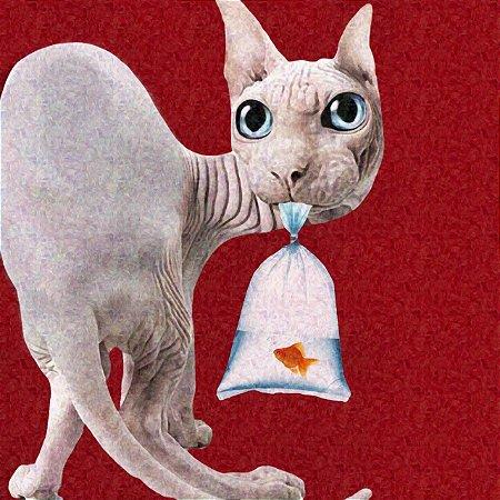 The Thief   CAT Domination    #DanispallArt