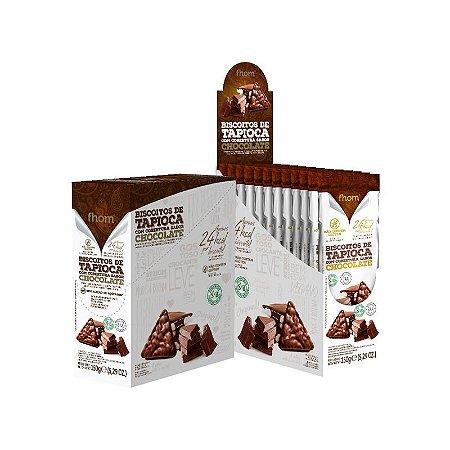 Biscoito de Tapioca com Chocolate TRIO 10x15g
