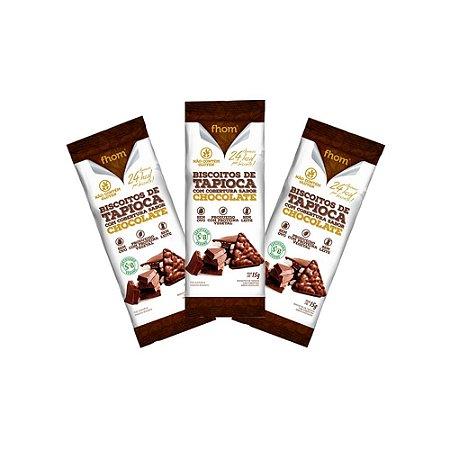 Biscoito Tapioca Chocolate 3 unid.