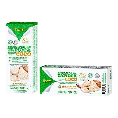 Biscoito de Tapioca Coco 30g - 2 unidades