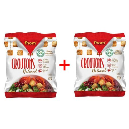 Crouton Natural 10g - 100 unidades  (Promoção)