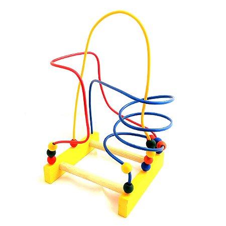 Brinquedo Aramado Infantil - Montanha Russa Pedagógica