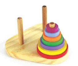 Brinquedos educativos 3 anos  - torre de hanói