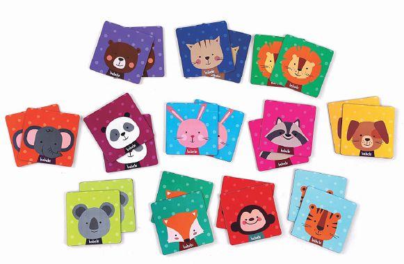 Brinquedos educativos 3 anos - jogo da memória dos animais