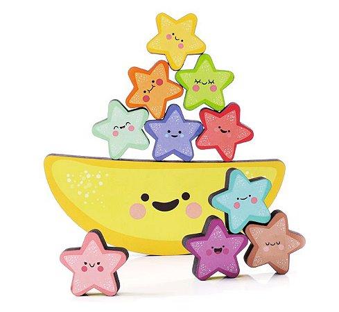 Equilibrando Estrelinhas - Brinquedo Educativo de Equilíbrio