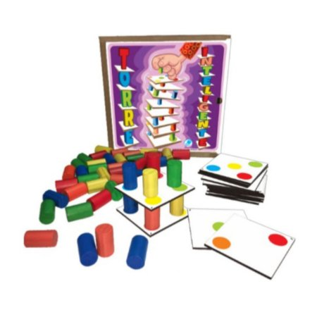 Jogo Torre Inteligente - Brinquedo educativo 3 anos