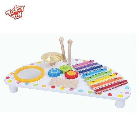 Mesinha de Atividades Musical - Mesa Musical Infantil