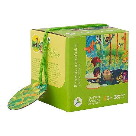 Brinquedo Educativo Jogo da Memória Floresta Amazônica