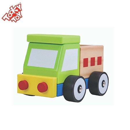 Caminhão Infantil Desmontável - Brinquedo de Encaixe