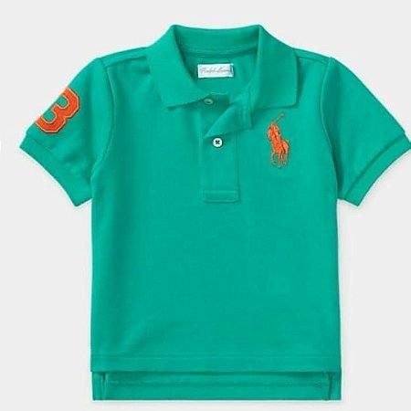 Camiseta Polo Verde - Polo Ralph Lauren - Era Uma Vez Kids Store 2c8e3866cb598