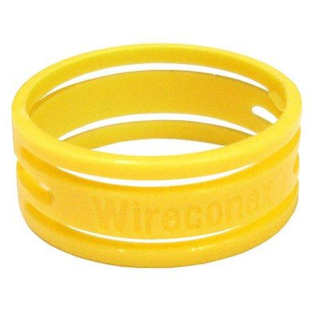 Anel Amarelo Wireconex Wc 1000 Para Conector Wc 1003 Xlr