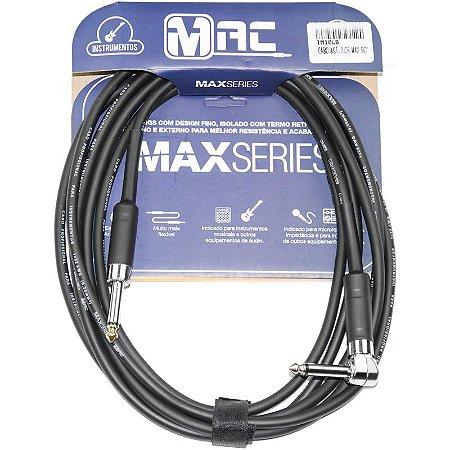 Cabo Para Instrumentos Mac Cabos Max Series 35m Preto P10 L