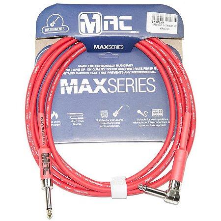 Cabo Para Instrumentos Mac Cabos Max Series 35m Vermelho P10 L