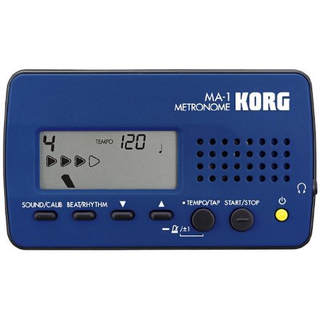 Metrônomo Digital Korg Ma-1 Blbk Azul