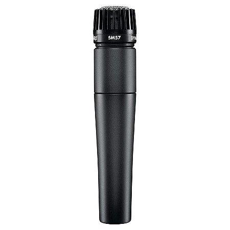 Microfone Shure SM57 Cardioide Dinâmico Para Instrumentos