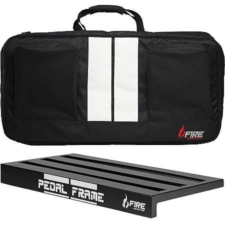 Pedalboard Fire Pedal Frame Com Bag