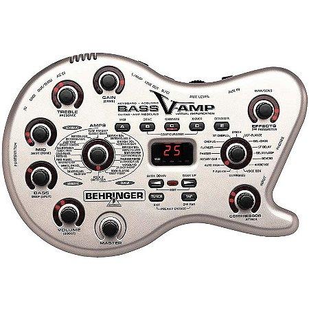 Pedaleira Para Baixo Behringer Bass V-Amp Lx1b