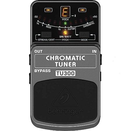 Pedal Para Guitarra Behringer TU300 Afinador Cromático