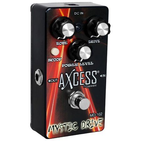 Pedal Para Guitarra Giannini Axcess Mystic Drive Md-102 True Bypass