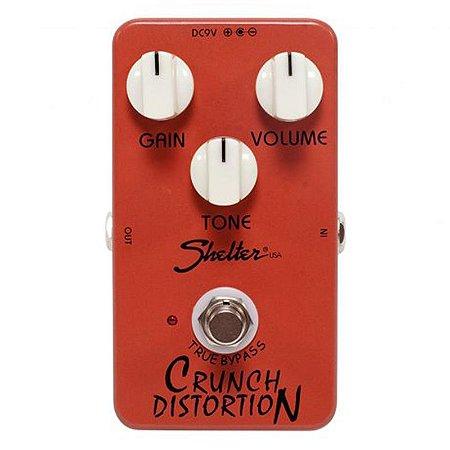 Pedal Para Guitarra Shelter Chrunch Distortion Scd