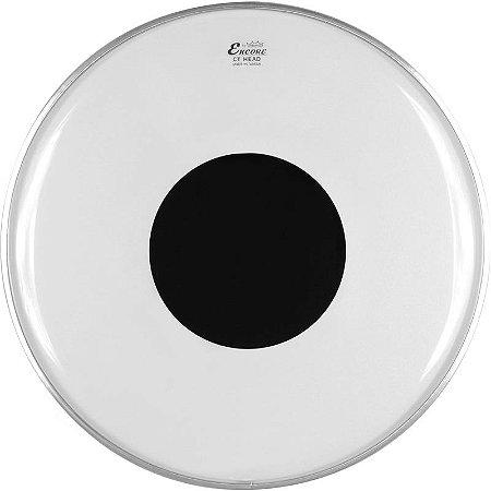 "Pele Remo Encore Controlled Sound Transparente 22"" En-1322-Ct"