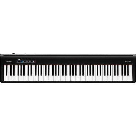 Piano Digital Roland Fp30 Preto