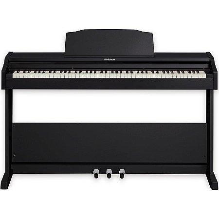 Piano Digital Roland Rp102 Bkl Preto
