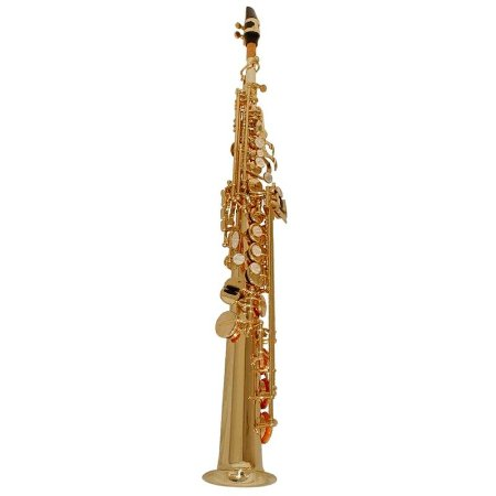 Saxofone Soprano Shelter Tjs6433l Laqueado Em Bb Com Case