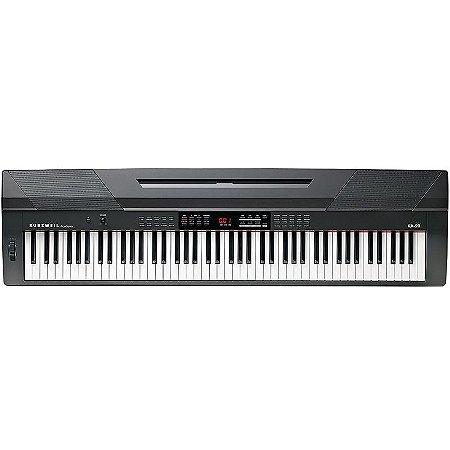 Stage Piano Arranjador Kurzweil KA90 88 Teclas Pesadas c/ Midi