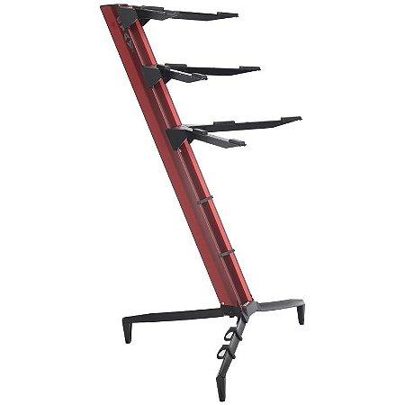Suporte Para 3 Teclados Periféricos Stay Torre 1300/03 Vermelho