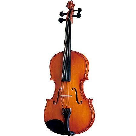 Viola De Arco Michael 4/4 Vam40 Tampo Em Spruce C/ Hardcase
