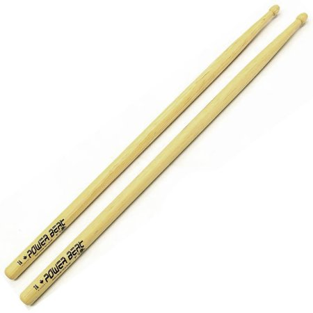 Baqueta Los Cabos Power Beat White American Hickory 7A LCDPB7A