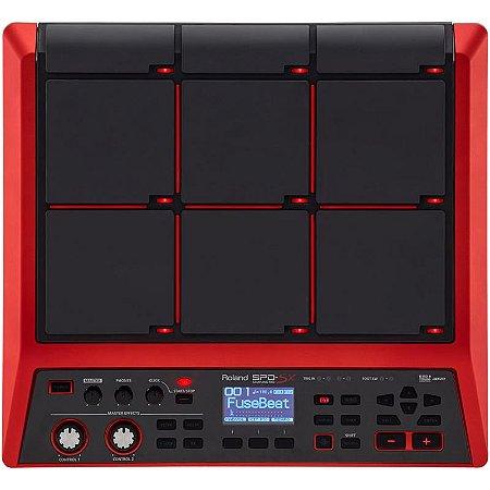 Bateria Eletrônica Roland Spd Sx Edição Especial Sampling Percussão Digital