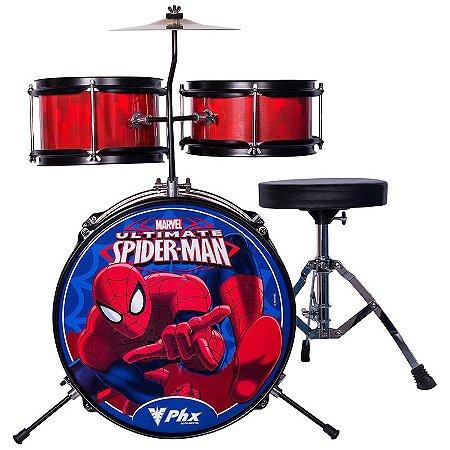 Bateria Phoenix Infantil Bim-S2 Homem Aranha Vermelha