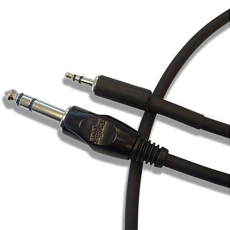 Cabo De Audio Santo Angelo Ac8 Conectores P2 / P10 1m