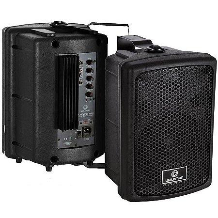 Caixa De Som Ativa Amplificada Monitor 120w Waldman Rc108a