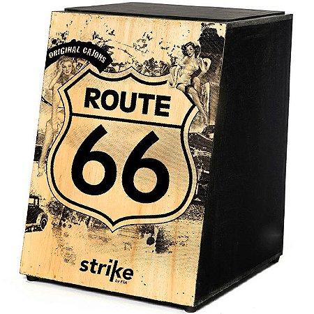 Cajon Inclinado Acústico Fsa Strike Sk4010 Route 66