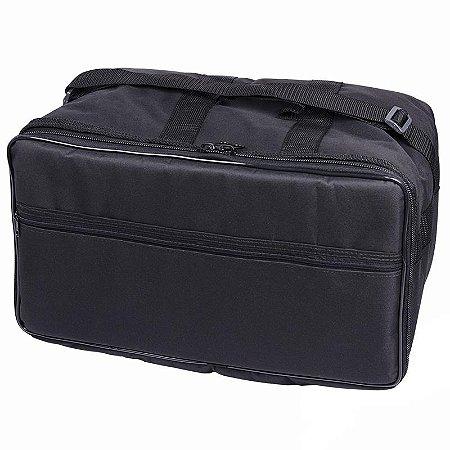 Capa Para Pedal Duplo De Bateria Cr Bag Formato Extra luxo
